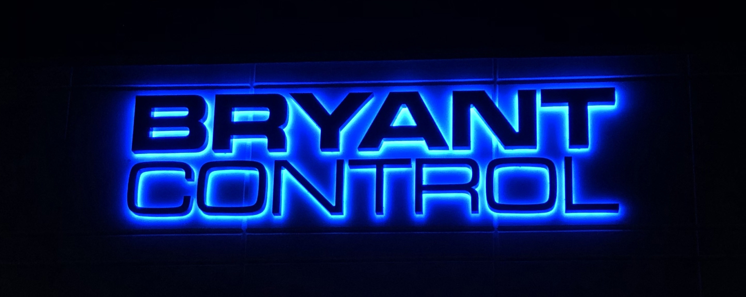 Channel Letter Sign Bryant Control