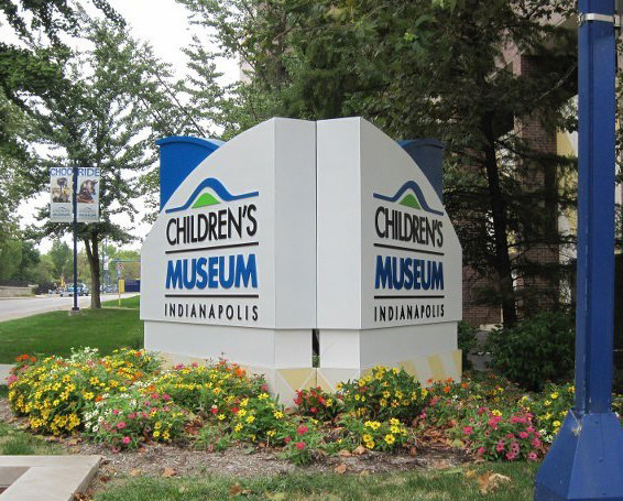 Indianapolis Children's Museum Sign