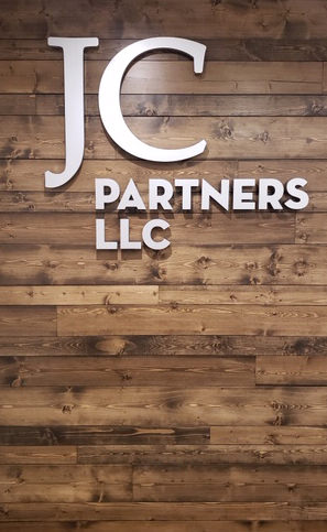 JC Partners Interior Channel Letters Sign