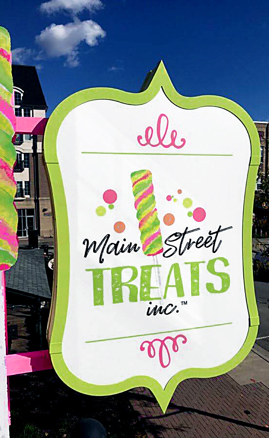 Main Street Treats Projecting Sign