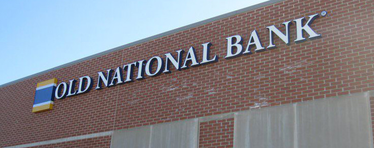 Old National Bank Channel Letter Sign