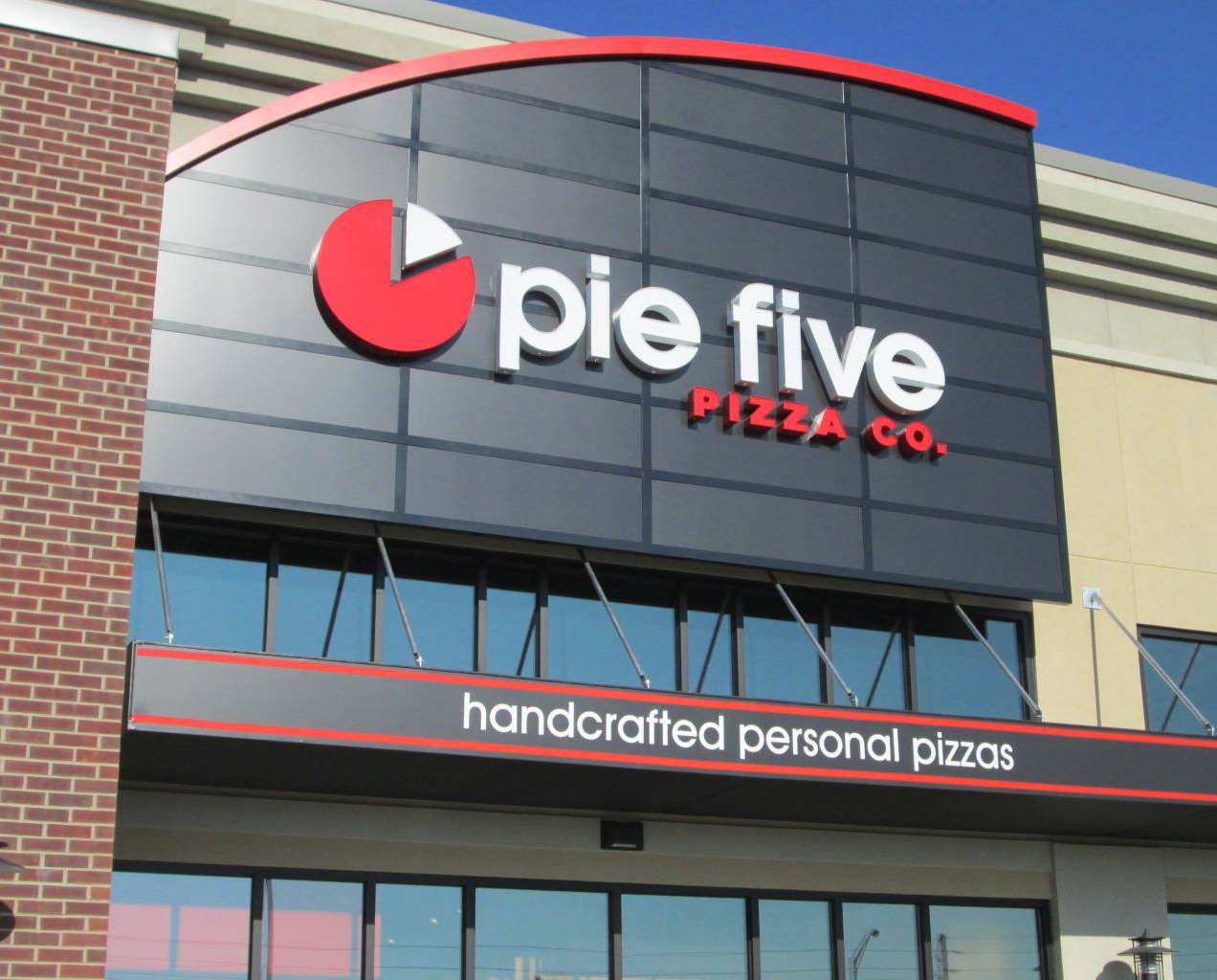 Pie Five Pizza Sign
