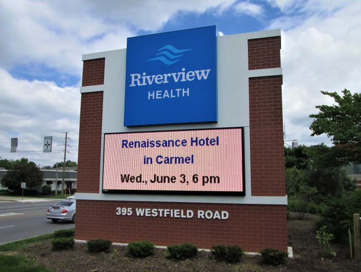Riverview Health Digital Sign