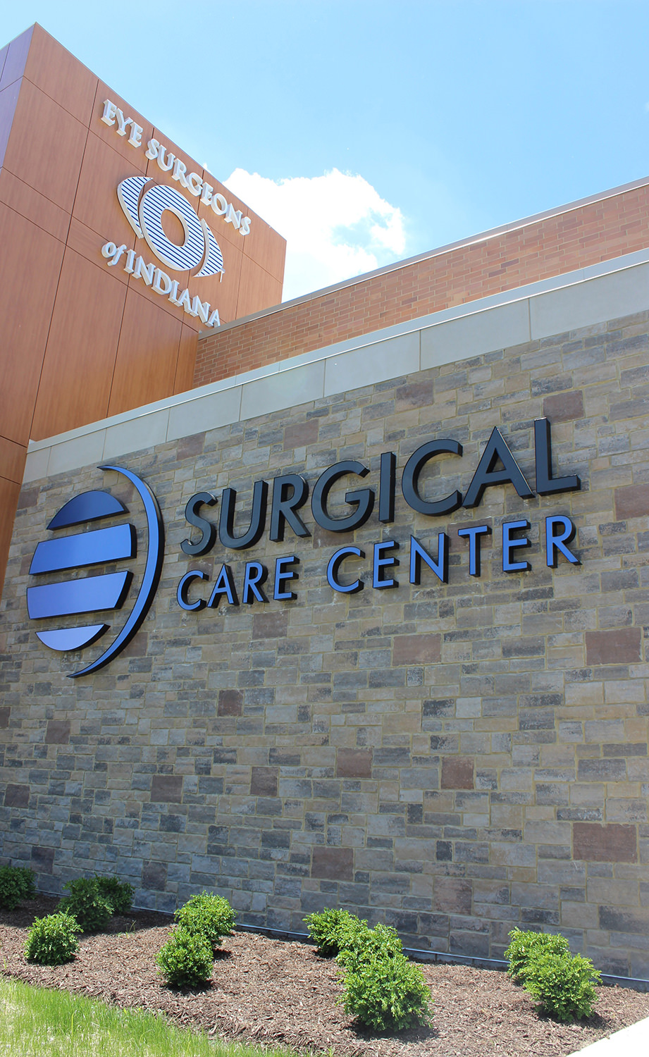 Surgical Center Channel Letter Sign