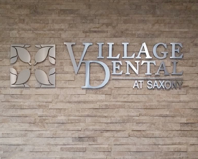 Village Dental Interior Sign