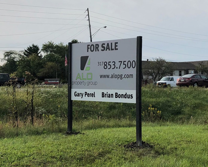 For Sale Site Signage