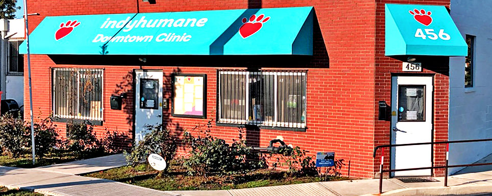Awning Indy Humane Society