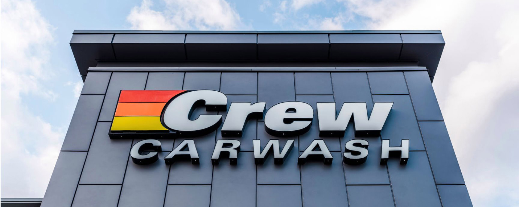 SignCraft Crew Carwash Channel Letter Sign
